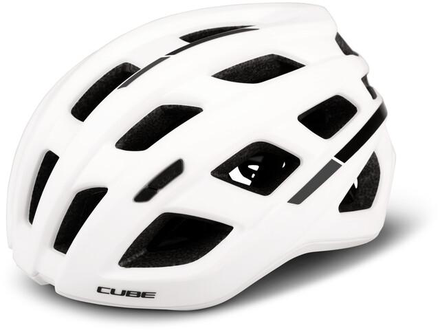 Cube Roadrace Fietshelm, white